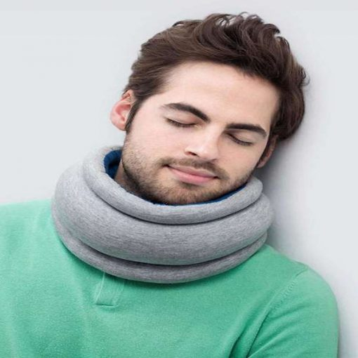 Ostrich Travel Neck Pillow - Blue