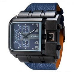 Oulm  Chrono Watch 3364 - blue