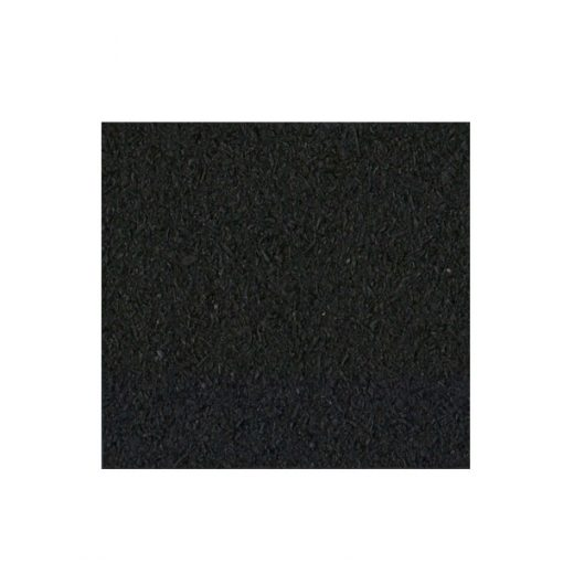Gym Outdoor Waterproof Rubber Mat 50 x 50 x 2.5 cm - Black