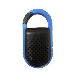 Clip Type Outdoor Bluetooth Speaker - Blue