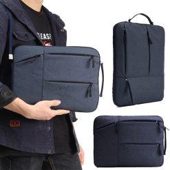 Portable 11.5 inch Laptop Sleeve Oxford Laptop Bag - Blue