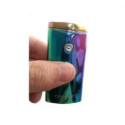 PRIMO Metal Finish Wind Proof USB Rechargeable Arc Lighter - Blue