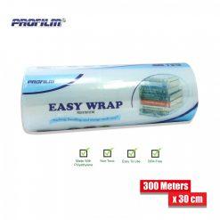 Easy Wrap Polyethylene Stretch Film 300 Meters x 30 cm - Transparent
