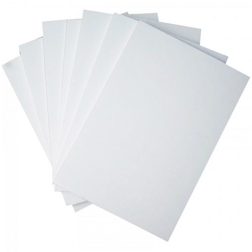 2 Pieces White PVC Illustration Board 20 x 30 inch 1.5 mm Thickness - White