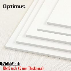 5 Pieces White PVC Illustration Board 10 x 15 inch 3 mm Thickness - White