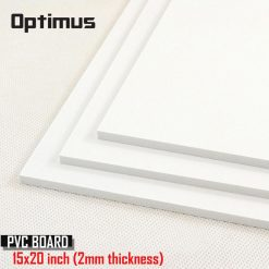 3 Pieces White PVC Illustration Board 15 x 20 inch 2 mm Thickness - White