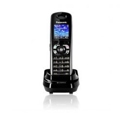 Panasonic KX-TW201SPBA Cordless GSM FWP Wireless Landline Fixed Wireless Mobile Phone - Black