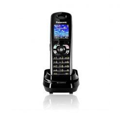Panasonic KX-TW201SPBA Cordless GSM FWP Wireless Landline Fixed Wireless Mobile Phone - Black