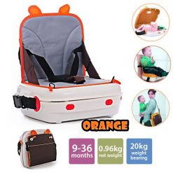 Hollywood Multifunction Carry On Bag And Child Booster Chair - Orange