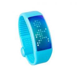 Personalized Signature 3D Pedometer Smart Watch - Blue