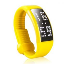 Personalized Signature 3D Pedometer Smart Watch - Yellow