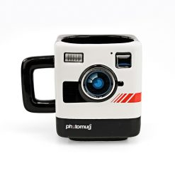 250 ml Retro Camera Photomug Coffee Mug - Black