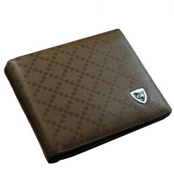 Leather Wallet for Men With SIM Card Holder - Brown