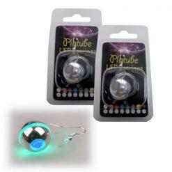 Platube LED Earrings - Blue