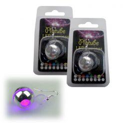 Platube LED Earrings - Purple