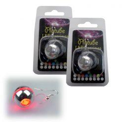 Platube LED Earrings - Red