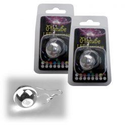 Platube LED Earrings - White