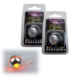 Platube LED Earrings - Yellow