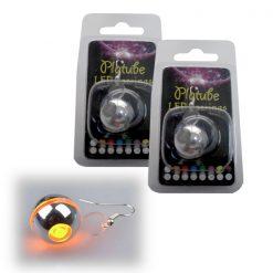 Platube LED Earrings - Orange