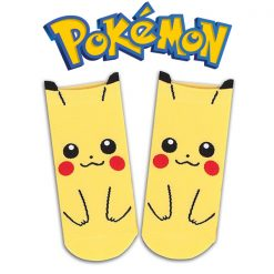 Pokemon Pikachu Socks - Yellow
