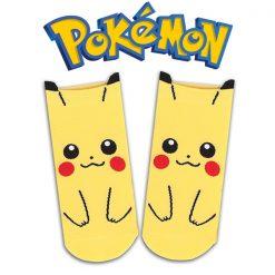 Pokemon Pikachu Socks - Yellow