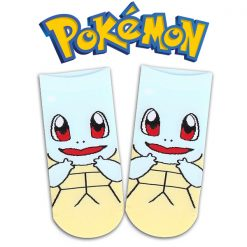 Pokemon Squirtle Socks - Light Blue