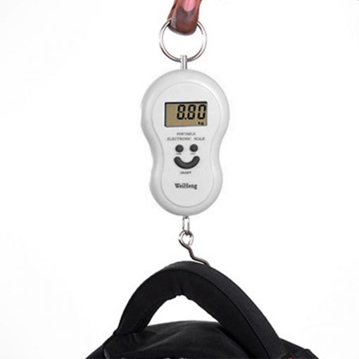 Portable Electronic Weight Scale Up To 45 Kg - Silver