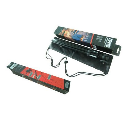 Portable Light Weight Camera Tripod - Black