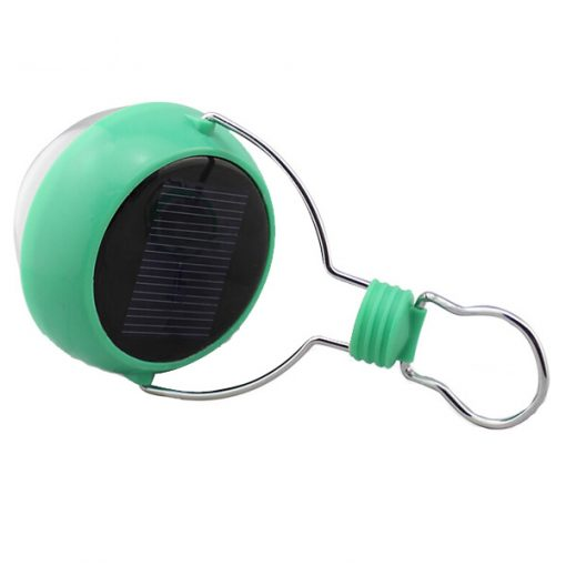 Portable Solar LED Lamp - Green / White