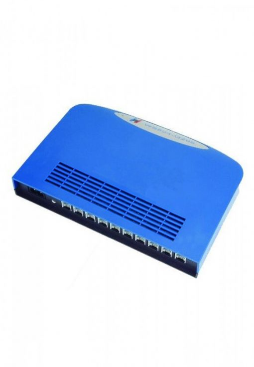Portable 2 CO Line 8 Ext Port mini PABX System For SME Small Office Home - Blue