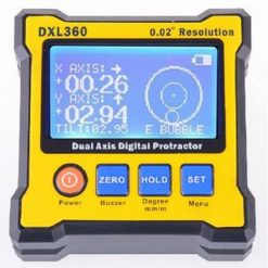 Portable Dual-Axis Level Box Digital Protractor