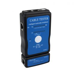 Portable Network Cable Tester - Blue
