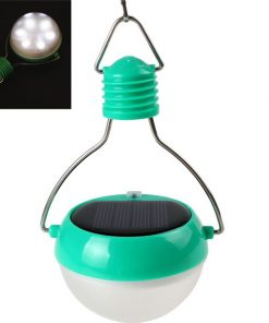 Portable Solar LED Lamp - Green / White