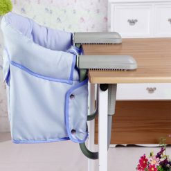 Portable Desk Mount Toddler Dining Chair - Blue