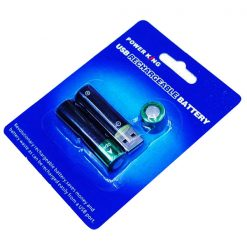 Power King AA 500mAH USB Rechargeable Battery