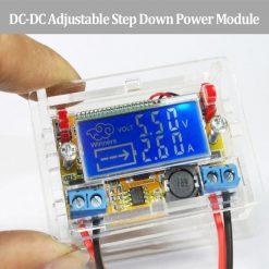 DC to DC Step Down Power Module With LCD Display And Acrylic Case