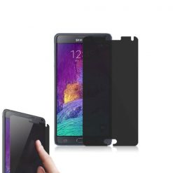 Privacy Screen Tinted Tempered Glass Screen Protector For Samsung Galaxy Note 4