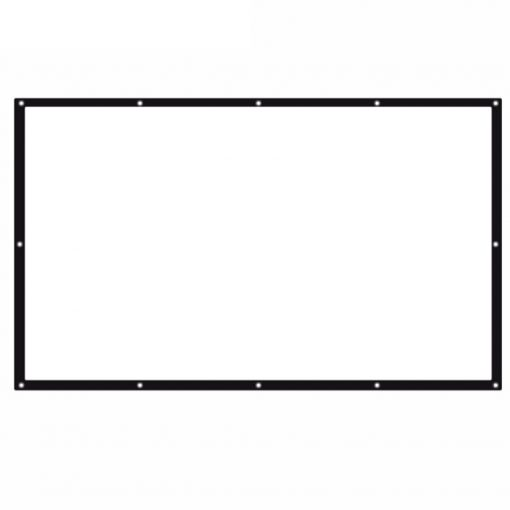 100 inch  Foldable Projector Screen  16:9 - White
