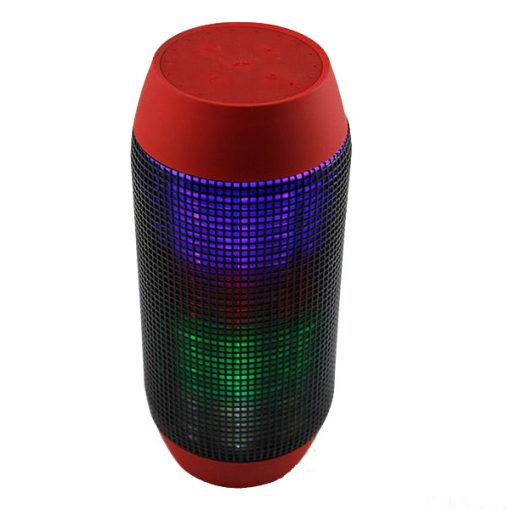Pulse Wireless Bluetooth LED Speaker - Red