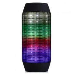 Pulse Wireless Bluetooth LED Speaker - Black