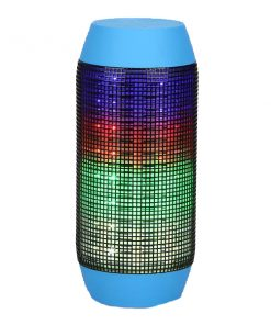Pulse Wireless Bluetooth LED Speaker - Blue