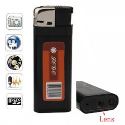 High Definition Q8 Lighter With USB Camera