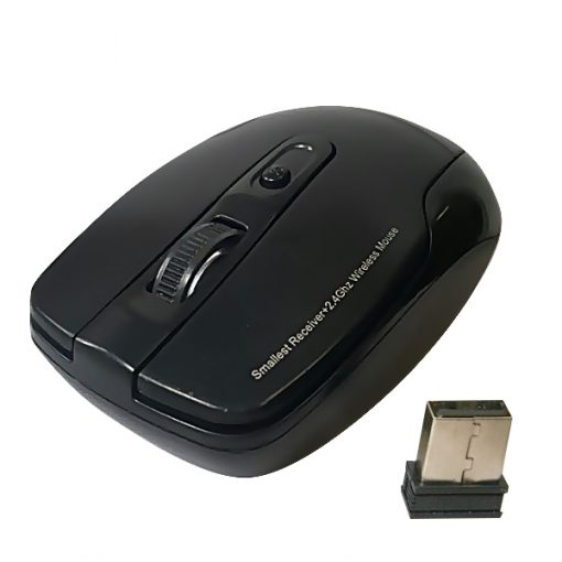 R-horse RF6040 Wireless 2.4G Optical Mouse - Black