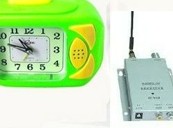 RF Wireless Clock with Spy Camera