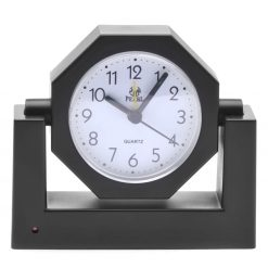 RF Wireless Analog Clock with Hidden Camera