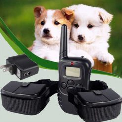 Rechargeable and Waterproof Training Collar for 2 Dog