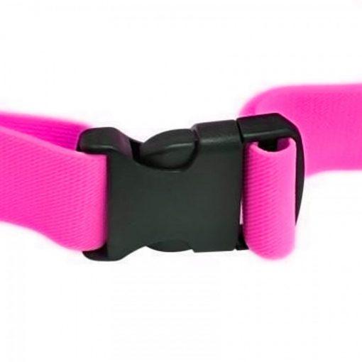 """Romix 4.7"""" Outdoor Touch Screen Sport Running Waterproof Purse Waist Bag - Pink"""