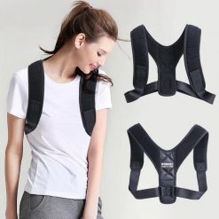 Romix Posture Correction Support Brace Medium - Black