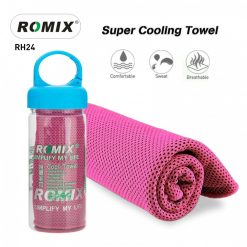 Romix RH24 Bottled Package Ice Evaporative Sports Cooling Towel - Red