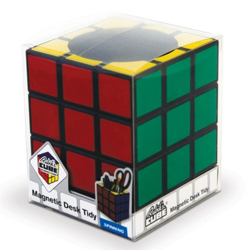 Magnetic Rubik's Cube Desk Tidy - Multicolor